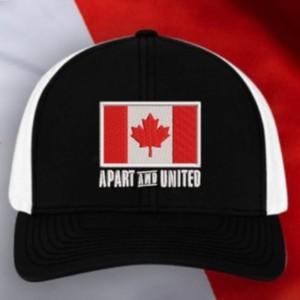 Canadian Flag Hat, Black