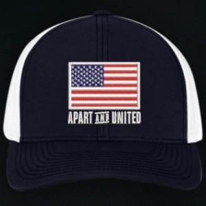 American Flag Hat, Blue
