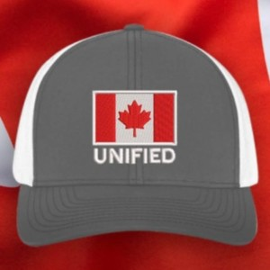 Canadian Flag Hat, Gray