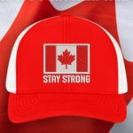 Canadian Flag Hat, Red